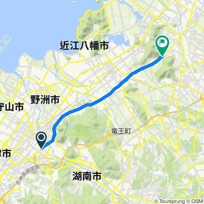 Tsuji, Ritto to Higashiomi