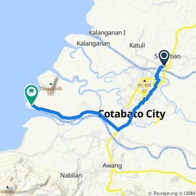 Quezon Avenue, Sultan Kudarat to Tamontaka Bubong Road, Cotabato City