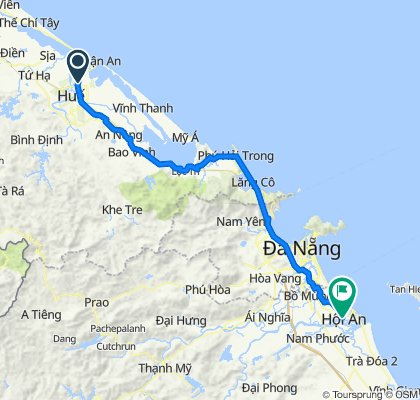 Hoi An to Thanh Toan Covered Bridge