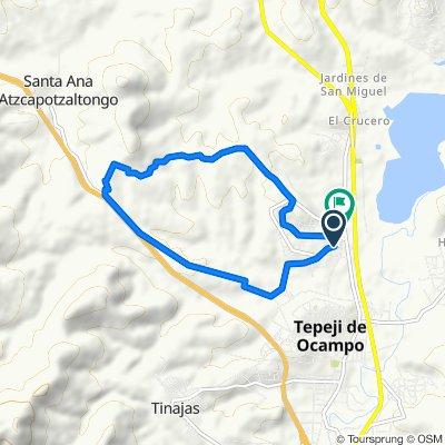 De Fco I Madero 4, Tepeji del Rio de Ocampo a Del Trabajo 81, Tepeji del Rio de Ocampo