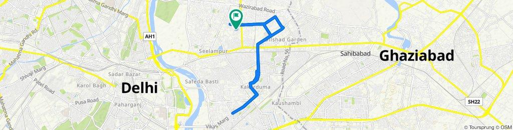 425/14, Delhi to 425/14, Delhi
