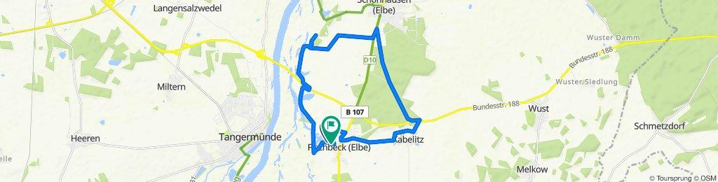 17 km Morgenrunde