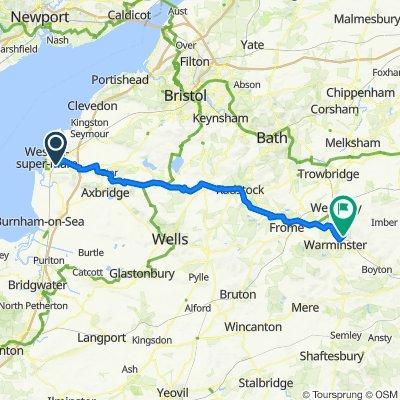 8 Wasp Way, Weston-super-Mare to Imber Road, Warminster
