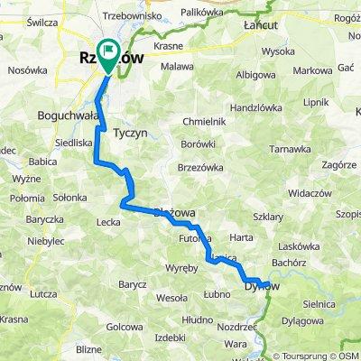 Rzeszów - Dynów - Rzeszów