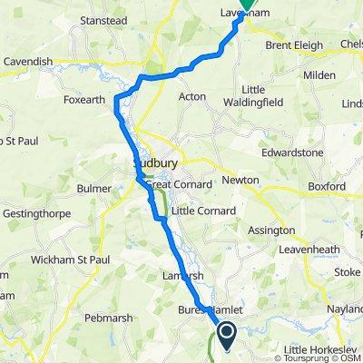 lavenham - cycle route 13