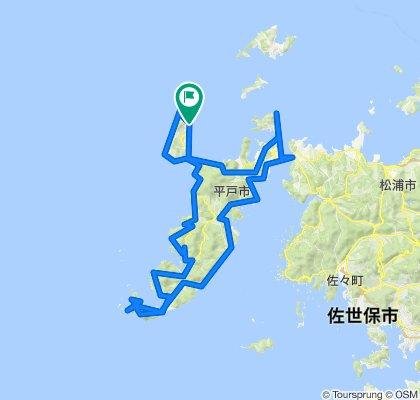 生月-平戸島一周