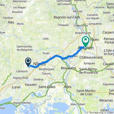 Itinéraire vers 15 Place de l'Horloge, Avignon