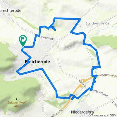 Johannes-Kleinspehn-Straße 8, Bleicherode nach Johannes-Kleinspehn-Straße 8, Bleicherode