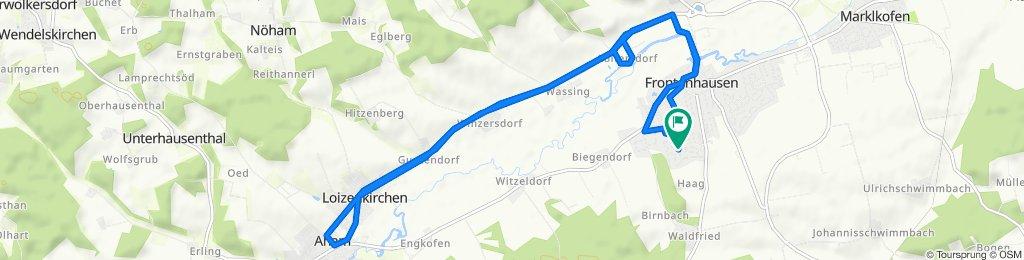 Frantostraße 1, Frontenhausen nach Frantostraße 1, Frontenhausen