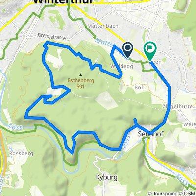 Itinéraire vers Hinterdorfstrasse, Winterthur