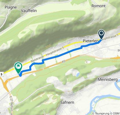 5 29, Pieterlen nach Centre Boujean, Biel