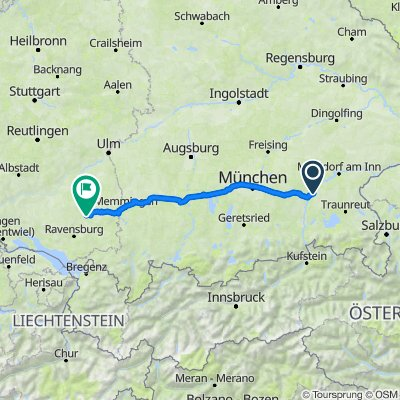 Stürzlham 2, Babensham nach Hauptstraße 40, Bad Waldsee