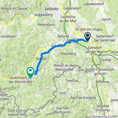 Hauptstraße 56d, Straß in Steiermark nach Fötschach 137, Leutschach an der Weinstraße