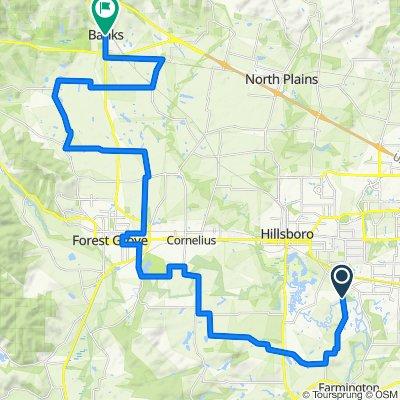 Tualatin Valley Scenic Bikeway