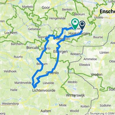 Rondje Zieuwent - 70 km
