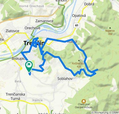Na Zongorke 7290/10, Trenčín do Na Zongorke 7290/10, Trenčín