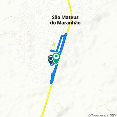 De S. Marcos, 361–663, São Mateus do Maranhão a Quicau, 1–121, São Mateus do Maranhão