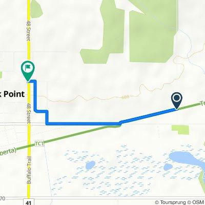 Range Road 65, Elk Point to 54 Avenue 4809, Elk Point