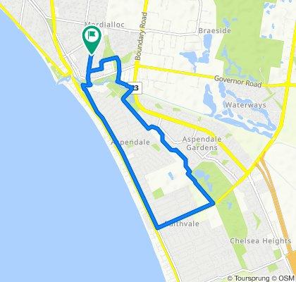54 Chute Street, Mordialloc to 56 Chute Street, Mordialloc