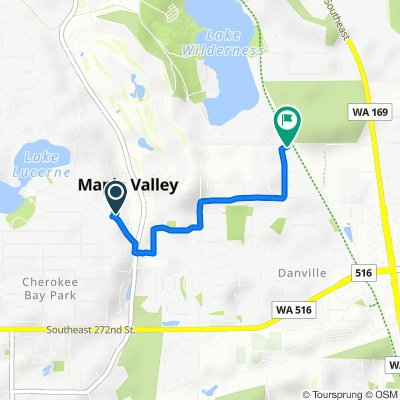 26542 222nd Ave SE, Maple Valley to 23412 SE 260th Ct, Maple Valley
