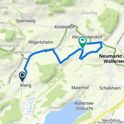 Kleinköstendorf Lauf Runde