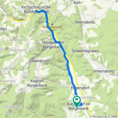 Anger 3, Bubendorf im Burgenland nach Anger 2, Bubendorf im Burgenland