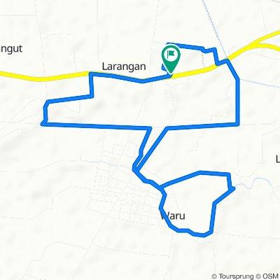 Jalan Raya Lohbener 60, Kecamatan Lohbener to Jalan Raya Lohbener 60, Kecamatan Lohbener
