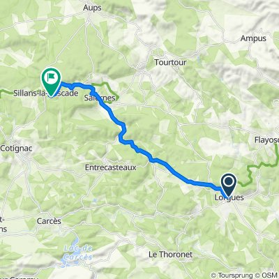 20–24 Boulevard de la République, Lorgues nach 27 Route de Salernes, Sillans-la-Cascade