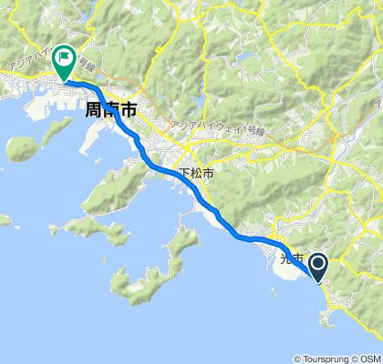 1-chōme 7, Hikari nach 3-chōme 6, Shunan