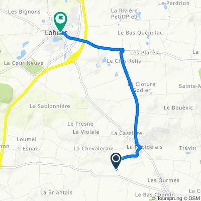 De La Timouriaie 6, Guipry à Rue de la Poste 21, Lohéac
