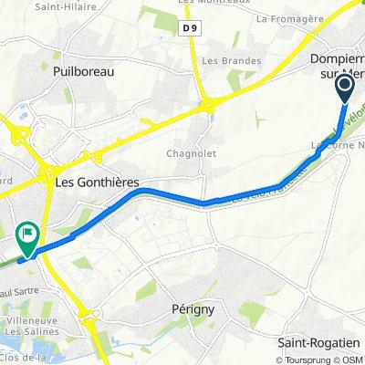 De 6316 Avenue de la Gare, Dompierre-sur-Mer à 34 Rue du Petit Marseille, La Rochelle