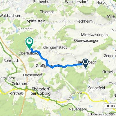 CO11, Sonnefeld nach An der Linde 17, Ebersdorf bei Coburg