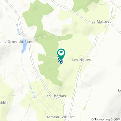 De 30 Hameau Les Desleaux, Sainte-Colombe-sur-Loing à 30 Hameau Les Desleaux, Sainte-Colombe-sur-Loing