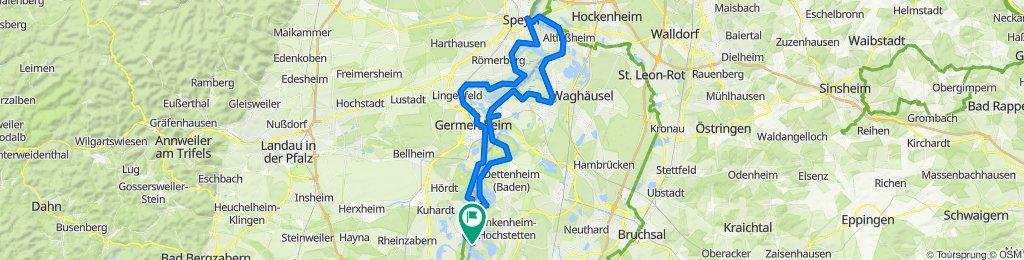 Fähre Leopoldshafen-Speyer-Fähre Leohfn
