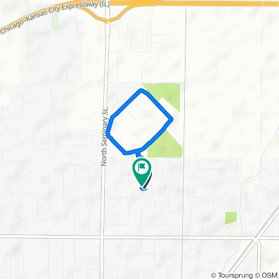 Beecher Avenue 1555, Galesburg to Beecher Avenue 1582, Galesburg