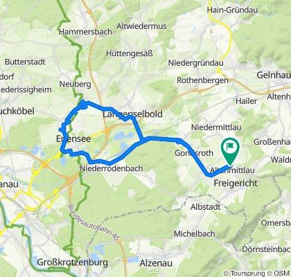 Kegelbahnstraße 28, Freigericht nach Kegelbahnstraße 23, Freigericht
