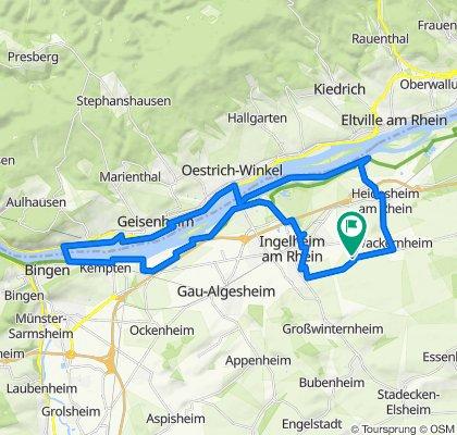 Außenliegend 143, Ingelheim am Rhein nach Außenliegend 143, Ingelheim am Rhein
