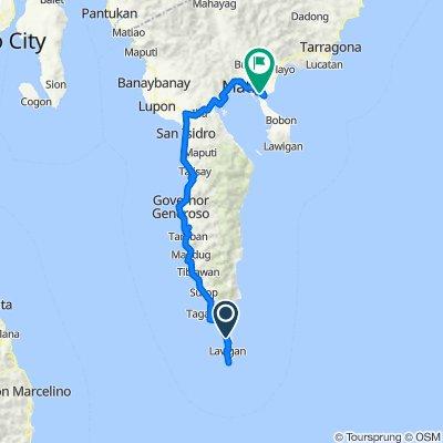 Tibanban - Lavigan Road, Governor Generoso to Dahican-Lawigan Road, Mati