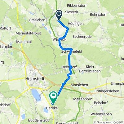 Südstraße 10A, Oebisfelde-Weferlingen nach Am Park, Harbke