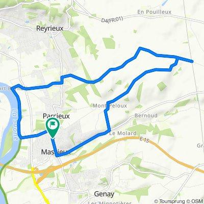 De 204 Route de Reyrieux, Massieux à 204 Route de Reyrieux, Massieux