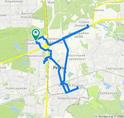 Осенние сухие велопоездочки: Балашиха - Реутов - Иваовское 11 09 2020