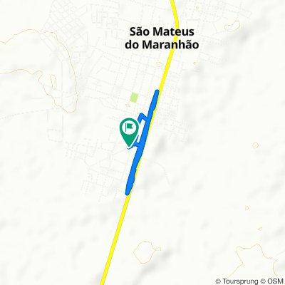 De S. Marcos, 362–664, São Mateus do Maranhão a S. Marcos, 361–663, São Mateus do Maranhão