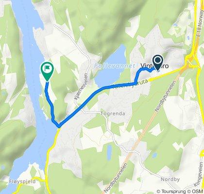Låne-sykkel til Breivoll