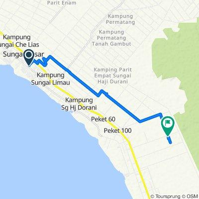 Steady ride in Sekinchan Part 2