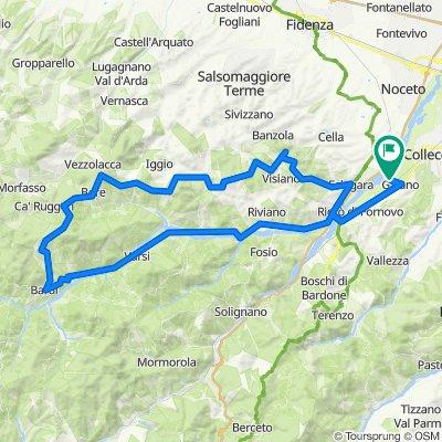 Da Via Molinara, Collecchio a Via Molinara, Collecchio