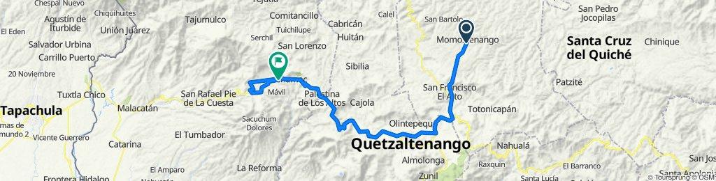 Momostenango- San Pedro Sacatepequez San Marcos
