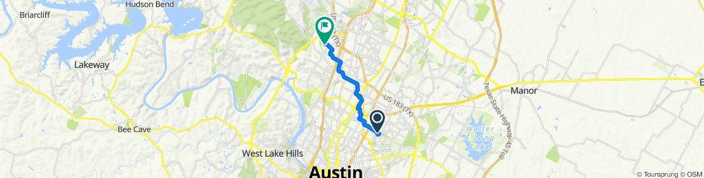 1771–1775 E 51st St, Austin to 8300 Adirondack Trail, Austin