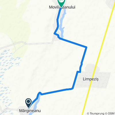 Unnamed Road, Mărgineanu to DJ203C 160, Movila Banului