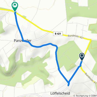B421, Peterswald-Löffelscheid nach Gassenhof 1, Panzweiler