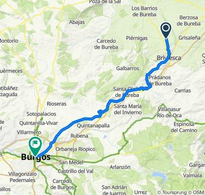BCB Ruta SEM 2020 (2). Aguilar de Bureba - Burgos